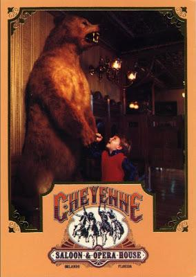 Cheyenne Saloon Grizzly Bear