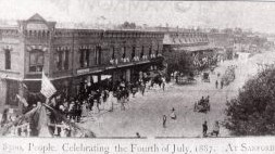 Photo Sanford 4th of July 1887 - Doyle's Store