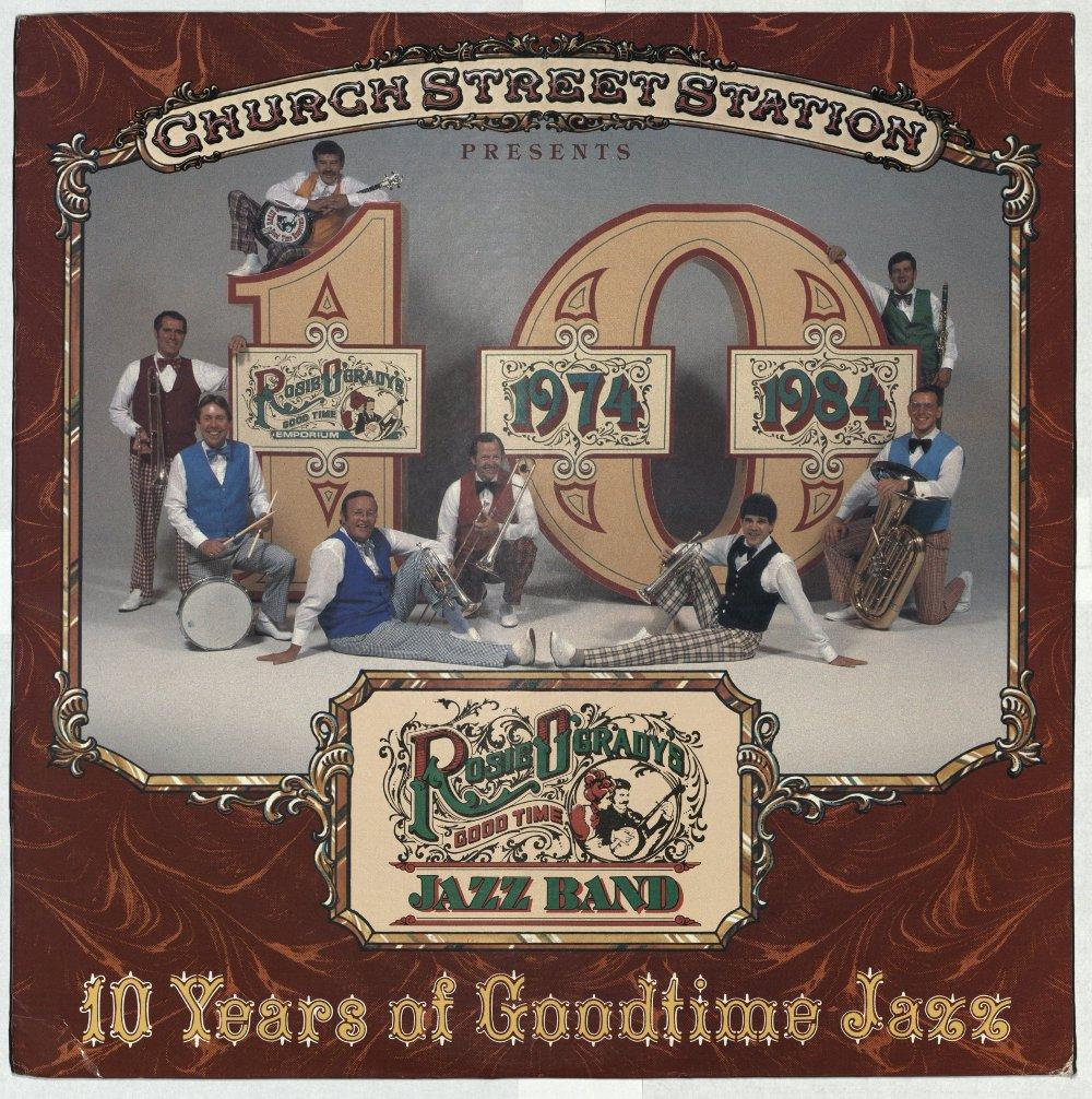 Album cover - 10 Years of Goodtime Jazz
