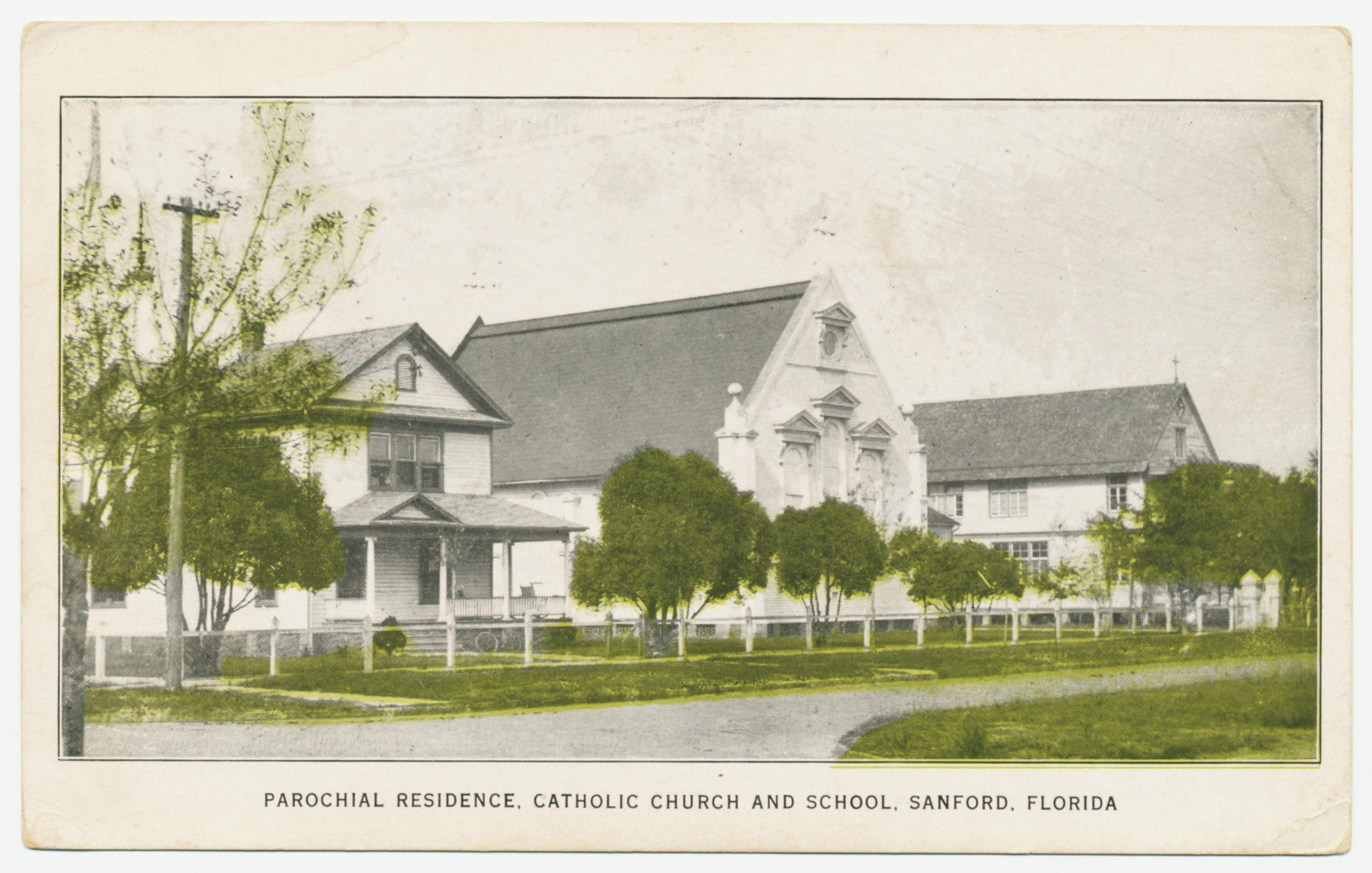 Photo of Rectory, Church and School